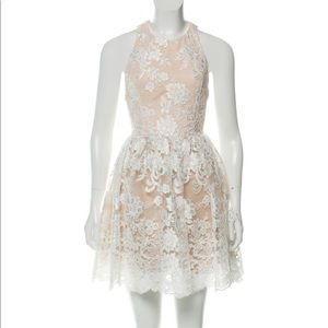 Alice + Olivia Ladonna Party lace dress
